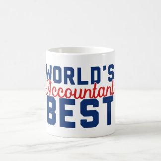 El mejor contable del mundo taza de café