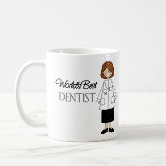 El mejor dentista del mundo, mujer taza de café