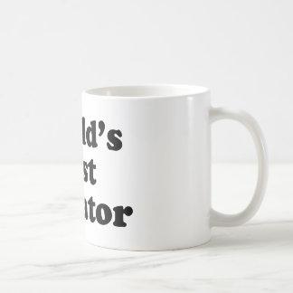 El mejor dictador del mundo taza de café