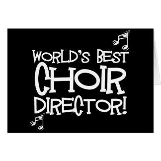 El mejor director del coro del mundo tarjeta