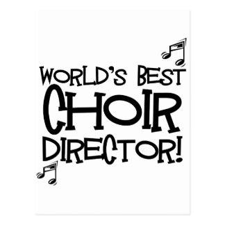 El mejor director del coro del mundo tarjeta postal