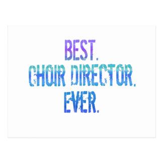 El mejor Director del coro Nunca Tarjeta Postal
