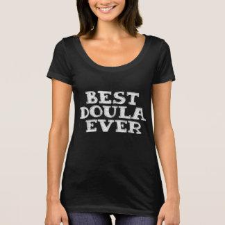 El mejor doula nunca - la camiseta le agradece