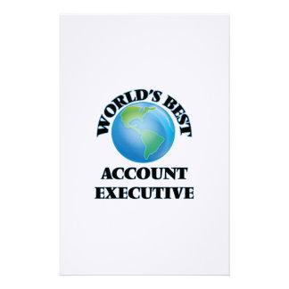 El mejor ejecutivo de la cuenta del mundo papeleria personalizada