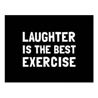 El mejor ejercicio de la risa postal