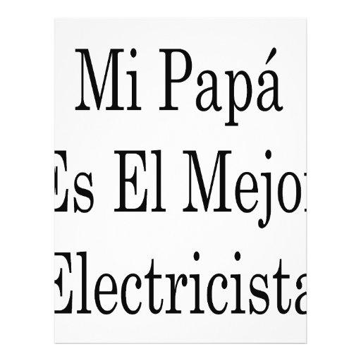 EL Mejor Electricista del Es de la papá del MI Tarjetón