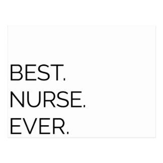 El mejor. Enfermera. Nunca Postal