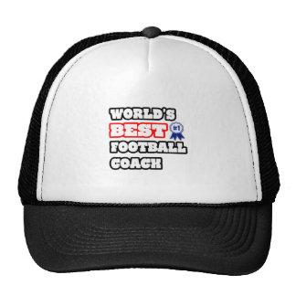 El mejor entrenador de fútbol del mundo gorro de camionero