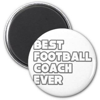 El mejor entrenador de fútbol nunca imán redondo 5 cm