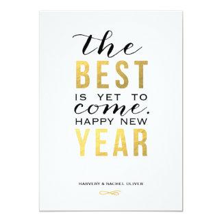 El mejor es todavía venir falsa tarjeta del Año