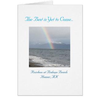 El mejor es todavía venir tarjeta de felicitación