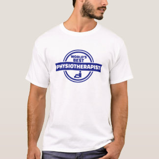 El mejor fisioterapeuta del mundo camiseta