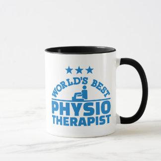 El mejor fisioterapeuta del mundo taza