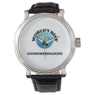 El mejor Geomorphologist del mundo Relojes De Mano