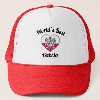 El mejor gorra de Babcia del mundo