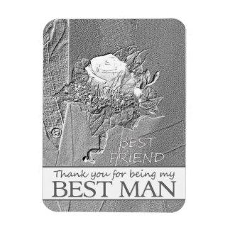el mejor hombre del mejor amigo le agradece imán