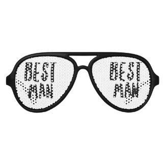 El mejor hombre gafas de fiesta de aviador