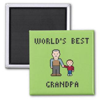 El mejor imán del abuelo de 8 mundos del pedazo