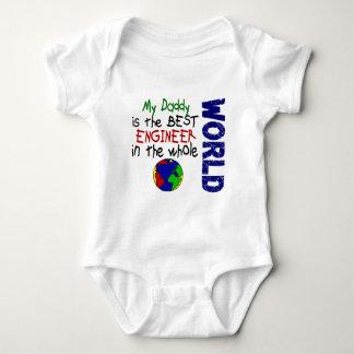El mejor ingeniero en el mundo 2 (papá) body para bebé