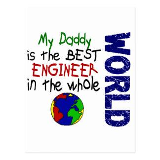 El mejor ingeniero en el mundo 2 (papá) postal