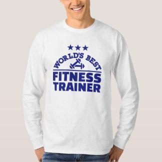 El mejor instructor de la aptitud del mundo camisas