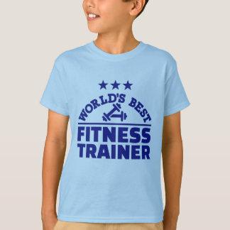 El mejor instructor de la aptitud del mundo camiseta