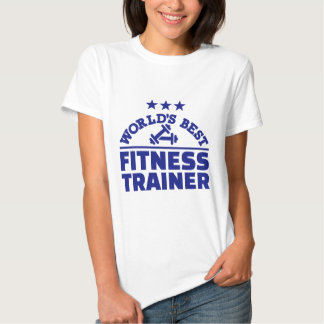 El mejor instructor de la aptitud del mundo camisetas