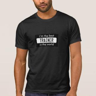 el mejor instructor del empleo del trabajo del mun camisetas
