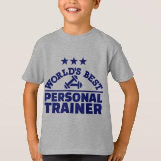 El mejor instructor personal del mundo camisas
