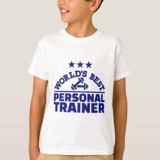 El mejor instructor personal del mundo camiseta