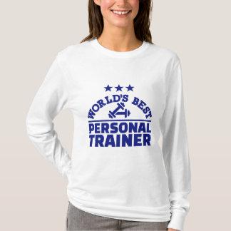 El mejor instructor personal del mundo camisetas