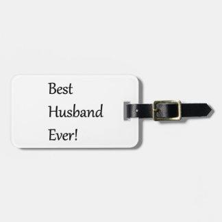 El mejor marido cada etiquetas para maletas