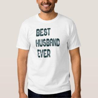 El mejor marido nunca camisetas