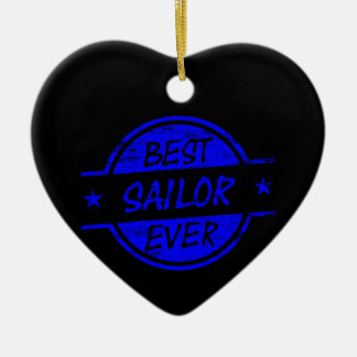 El mejor marinero siempre azul adorno de reyes