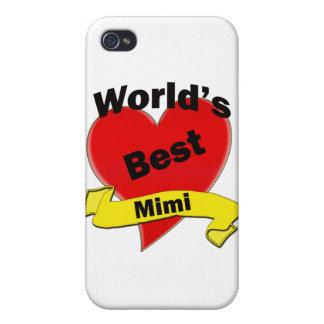 El mejor Mimi del mundo iPhone 4 Protectores