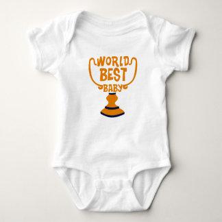 El mejor mono del jersey del bebé de los pares de