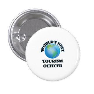 El mejor oficial del turismo del mundo pins