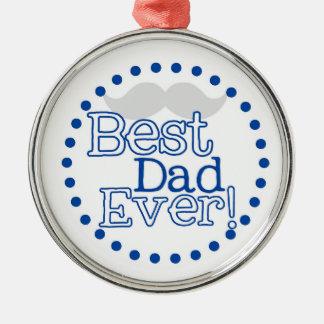 El mejor ornamento del navidad del papá nunca