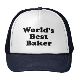 El mejor panadero del mundo gorras de camionero