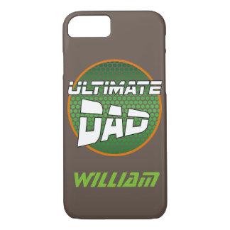 El mejor papá con verde conocido adaptable y el funda iPhone 7
