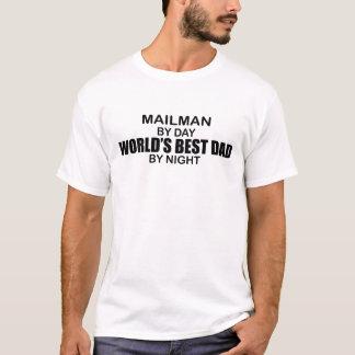 El mejor papá del mundo - cartero camiseta