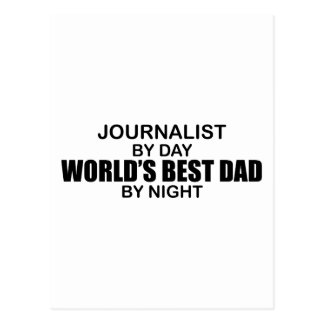 El mejor papá del mundo - periodista tarjeta postal