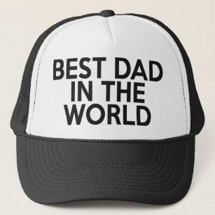 El mejor papá en el gorra del camionero del mundo c0c2ea54268