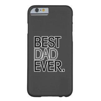 El mejor papá nunca funda de iPhone 6 barely there