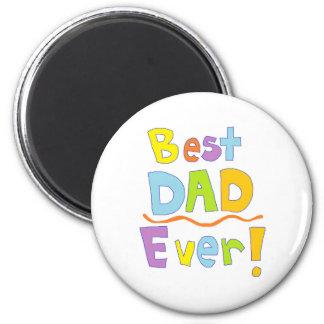El mejor papá nunca imanes