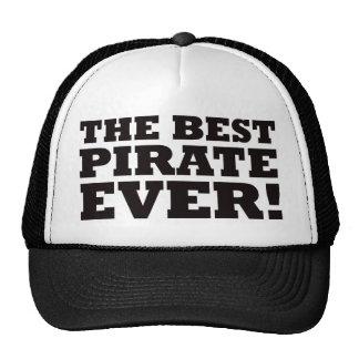 El mejor pirata nunca gorras