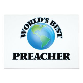 El mejor predicador del mundo invitación 12,7 x 17,8 cm