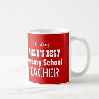 El mejor profesor de la GUARDERÍA del mundo V03H9  Tazas