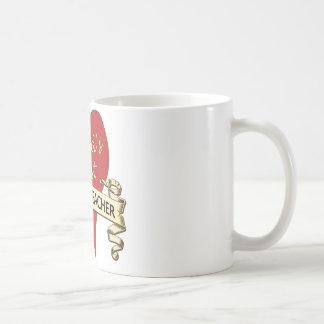 El mejor profesor de la historia del mundo taza de café