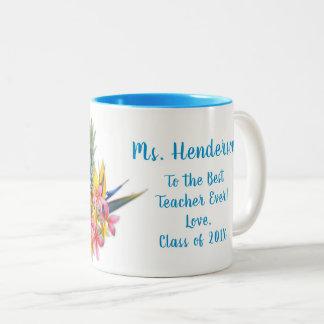 El mejor profesor de la taza hawaiana de las